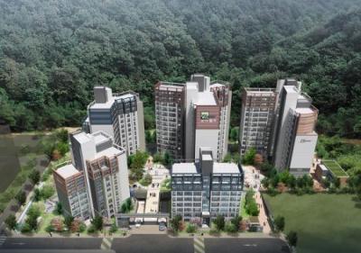 면목동 아파트 '용마산 모아엘가 파크포레' 우수한 교통과 생활 인프라로 관심