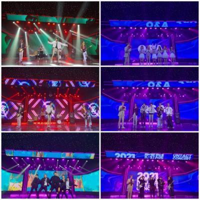 내츄럴리뮤직의 실시간 라이브 kpop 음악 방송 K-STAGE 2021 6회 성황리 종료